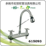 Il singolo rubinetto di plastica freddo per il bicromato di potassio del bacino ha placcato 615102