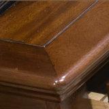 2017 último projeto de cabeceira de madeira maciça para o quarto set (como815)