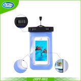 Estuche estanco al agua Universal celular bolsa seca sensible a la bolsa con el caso del teléfono con pantalla táctil de PVC