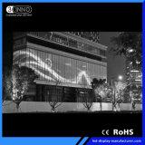 Schermo di visualizzazione flessibile pieno del LED di colore SMD di alta luminosità di P37.5mm