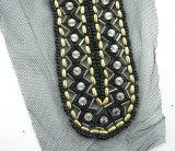 De nieuwe Halsbanden van de Manier van het Ontwerp Met de hand gemaakte Manier Geparelde