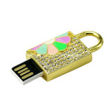 Bastone del USB di memoria Flash del USB Pendrive della serratura del metallo mini