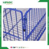 Metal del alambre que empila la cesta para el uso de la promoción