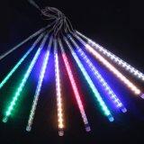 LED красочный Метеор душ дождь падения света для украшения дерева