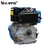 10HP de potência de 4 tempos motor diesel do gerador em destaque (FC186FA)