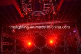 Ilda TTL 5W 8W de color RGB con láser de Animación 9*10W 4en1 Fase LED moviendo la cabeza la luz del láser (MHLS-W5000/W8000)