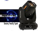 Rasha 15r 350W 3in1 Etapa moviendo la cabeza el rayo de luz/Spot/Lavado moviendo la etapa de la luz de la cabeza de la luz de la etapa DMX