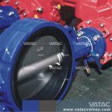 PTFE/PFA/FEP привод вентилятора Linning вафельной двухстворчатый клапан