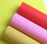 Borgoña de polipropileno de color rojo oscuro Nonwoven Fabric para Mantel