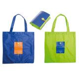 Sacs d'emballage se pliants estampés par OEM d'achats de mode de polyester