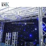A torneira de DJ de alumínio para eventos de serrilha de treliça de iluminação de desempenho