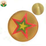 Clavijas redondas personalizado insignia de regalo para el cliente.