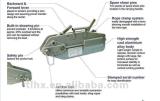 ボートのためのセリウムによって証明されるワイヤーロープの引き手