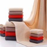 超柔らかい100%Cottonによって編まれた浴室タオルは大人(02Y0004)のためにセットした