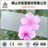 5mm Berijpt van het Polycarbonaat Stevig Blad Gekleurd PC- Blad met UVBescherming voor BinnenDeuren