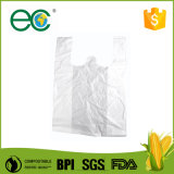 생물 분해성 쇼핑을%s 관례에 의하여 인쇄되는 플라스틱 t-셔츠 부대