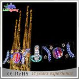 Grande indicatore luminoso della decorazione della via di natale del LED/indicatore luminoso motivo di festa
