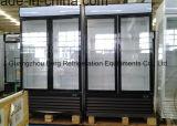 Холодильник двери вентиляторной системы охлаждения чистосердечный двойной стеклянный (LC-2FC)