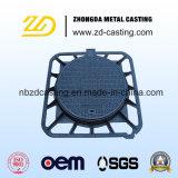 OEM Sand Casting Cobertura de orifício do fornecedor dourado com padrão En124