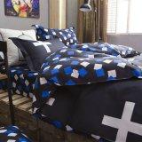 최신 판매 가정 직물 Microfiber 누비이불 덮개 침대 시트