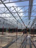 Structure en acier iso9001 /Structure en acier de construction entrepôt/atelier/Supermaket ciment extérieur Conseil
