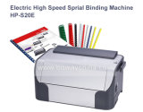 Boway Desktop Small Volume High Speed Electric 나선형 Coil Book Binding Machine 마력 S20e