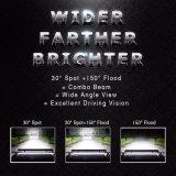 Barra ligera campo a través IP68 4 del CREE al por mayor LED de la fila 468W 20inch 4X4 para el Wrangler del jeep
