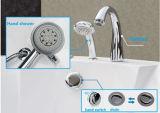Vasca da bagno indipendente d'angolo di massaggio di uso della gente di figura 2 del ventilatore (M-2053)