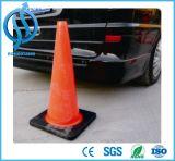 Seguridad vial cono del tráfico del PVC