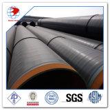 Pipa de acero inconsútil laminada en caliente de carbón de DIN1629 St37