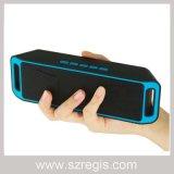 Водоустойчивый портативный беспроволочный диктор Bluetooth с карточкой TF поддержки радиоего FM