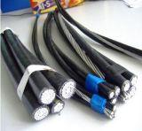 ABC привязывает кабель для воздушных линий 25mm надземного воздушного кабеля пачки алюминиевый 35mm