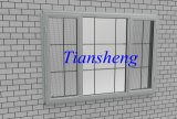 Amerikanische Art-reizbares Aluminiumfenster
