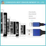 Schnelles aufladenhochgeschwindigkeitsnylon flocht 3.1 Typen c-Kabel USB für iPhone 7/7plus