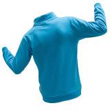 Soem-reine Farben-Mann-Baumwollfreizeit im Freien blaues Hoody Sweatshirt