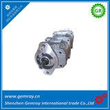 Komatsu 굴착기 PC220-1 예비 품목을%s 유압 3배 기어 펌프 705-56-24030