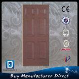 Portello di legno esterno della vetroresina del doppio di disegno del portello