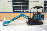 ISO9001証明書が付いている熱い販売の小型坑夫の掘削機1.8t