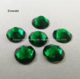 Вспомогательное оборудование одеяния изумрудного Rhinestone Ss20 стеклянного кристаллический Strass кристаллический (FB-ss20 emerald/5A)