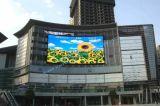 P6 P8 P10屋外IP65広告LED掲示板の表示画面