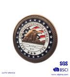 Monete militari dello smalto molle impresse doppio lato (xd741)