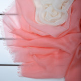 Mergulhe a tintura seda&Modal Lenço Mesclado
