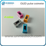 SpO2 선을%s 가진 최신 이중 색깔 OLED 전시 손가락 끝 펄스 산소 농도체 파형