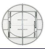 8-10 vector de plegamiento plástico de los asientos para la comida campestre que acampa que cena el partido