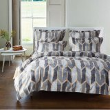 American Style printed Lightweight Microfiber Duvet Cover set