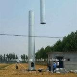 De gegalvaniseerde Toren van de Antenne van het Staal Monopole Mobiele