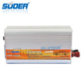 Invertitore di potere dell'automobile modificato alta qualità dell'onda di seno di Suoer con CC 12V del cicalino 1000W a CA 230V (USB-1000A)