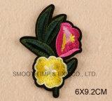 عادة لباس داخليّ علامة تجاريّة تطريز رقعة ورقة حد أحمر [روس] زهرة
