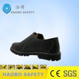 De echte Schoenen van de Veiligheid van de Bescherming van de Teen van het Leer Samengestelde