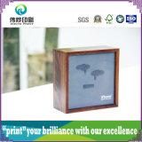 Коробка творческого деревянного печатание упаковывая для наушника